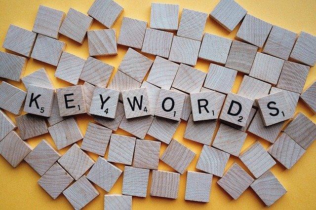 Rechercher des mots clés